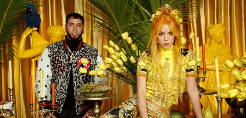 Anuel AA y Shakira