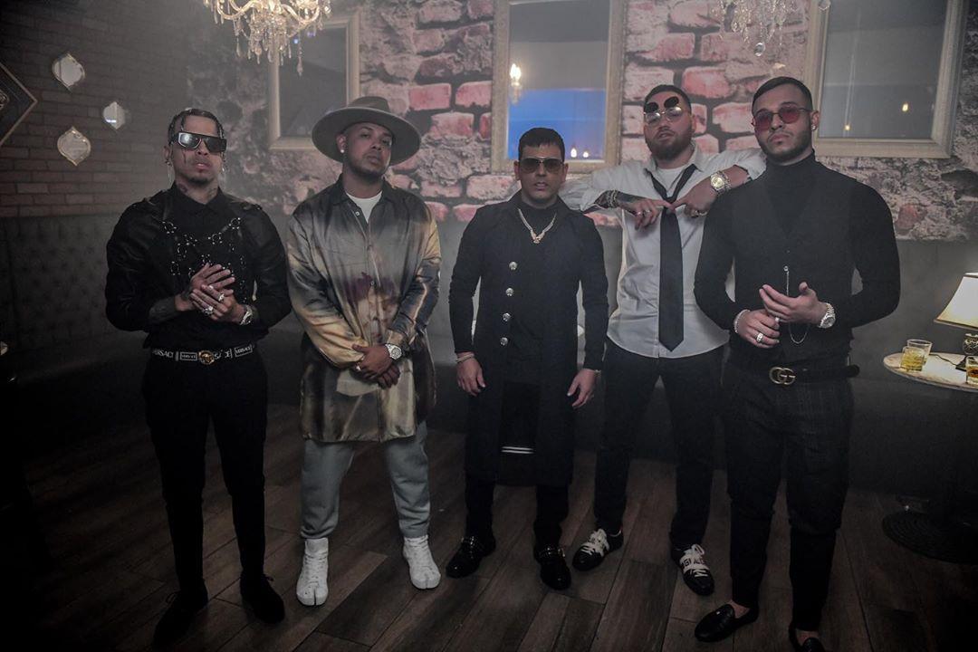 Tito El Bambino con Rauw Alejandro, Lyanno, Miky Woodz y Rafa Pabón