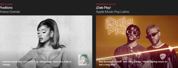 el canal Apple Music TV