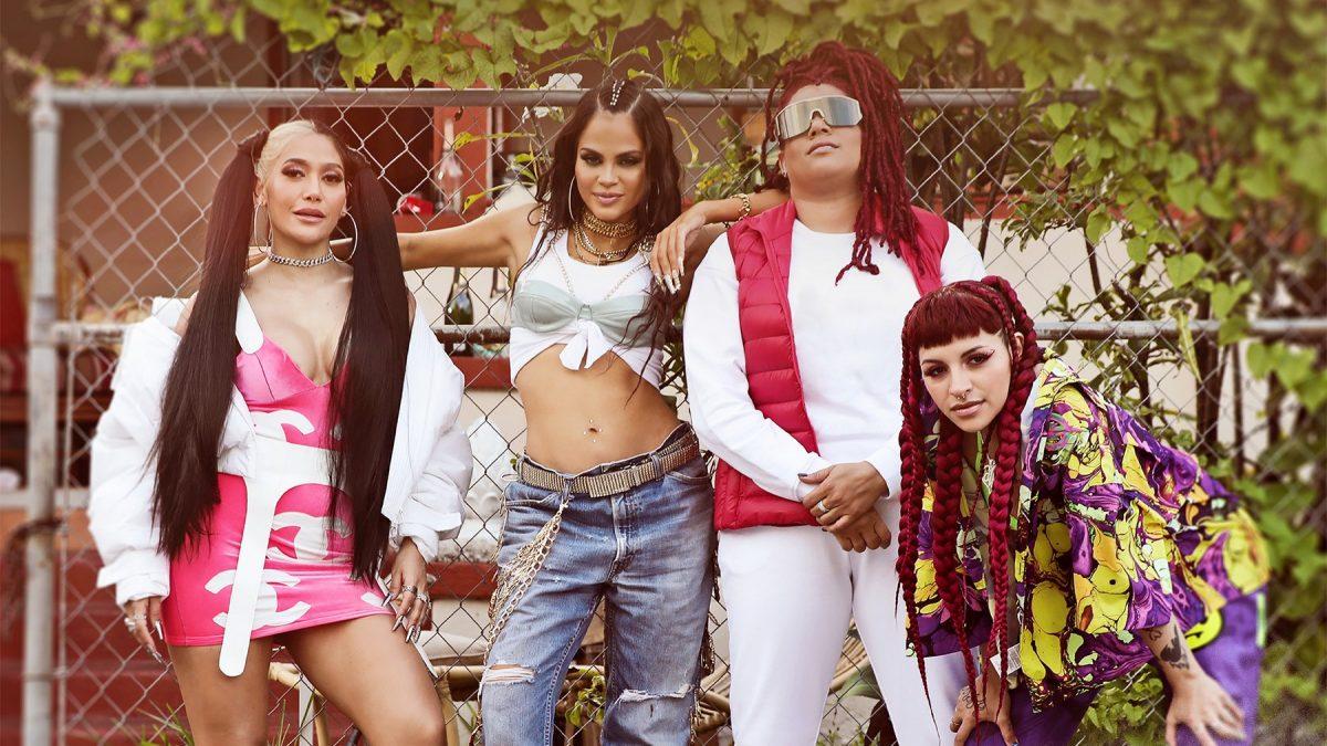 """Natti Natasha lanza el himno de """"Las Nenas"""" junto a Farina, Cazzu y La Duraca"""