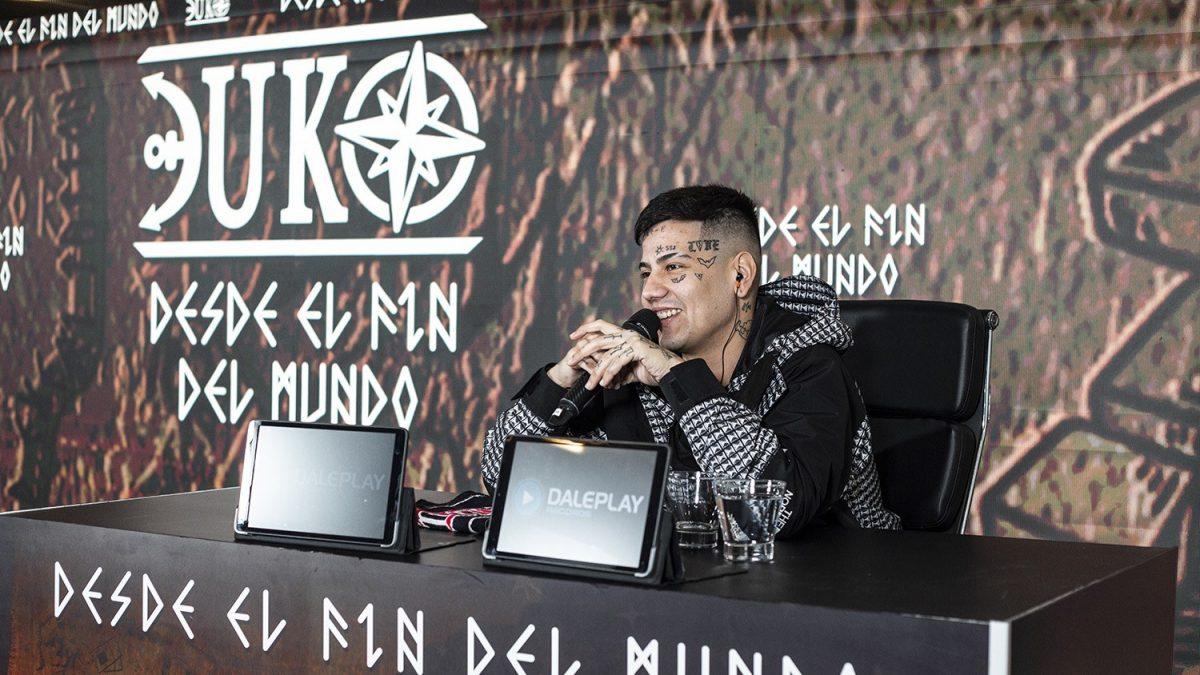 Duki presentó a la prensa su aclamado disco 'Desde El Fin Del Mundo'