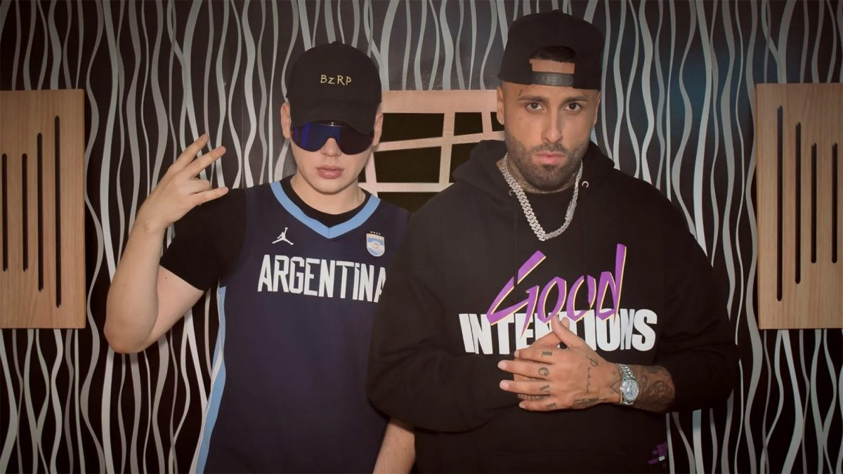 Bizarrap & Nicky Jam rompen YouTube con el Music Sessions #41
